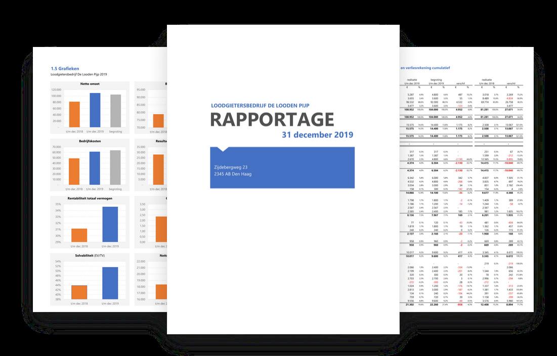 Maak snel en gemakkelijk een financiële rapportage in Excel